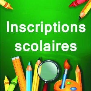 Inscription scolaire - Mars 2017